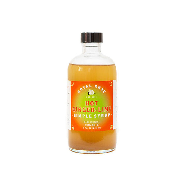 Royal Rose Hot Ginger Lime