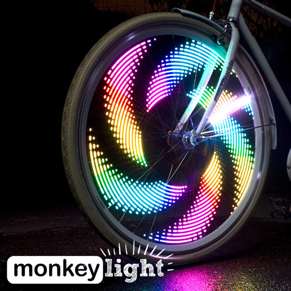 MonkeyLetric M232 - 32 LED Bike Wheel Light