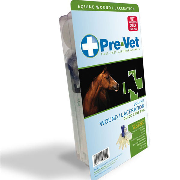 Pre-Vet Equine Wound/Laceration Quick Care Pak