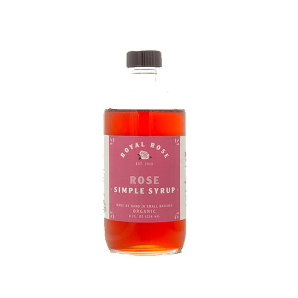 Royal Rose - Rose Simple Syrup