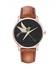 Montre COLIBRI - Or Rose