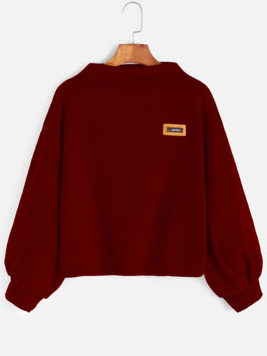 Patch Sweatshirt