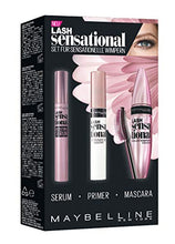 Laden Sie das Bild in den Galerie-Viewer, Maybelline New York Lash Sensational Routine-Set, mit Wimpernserum, Primer und Mascara