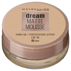 Maybelline Dream Matte Mousse Make-up Nr. 20 Cameo, 18 ml