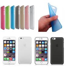 Laden Sie das Bild in den Galerie-Viewer, Bunte Handy Hülle Color Soft Plastic Matte Case For iphone X 6 6s 7Plus 5s SE XR XS Max Gel Back