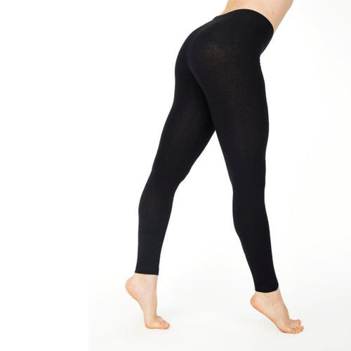 New Womens Casual Leggings aus Elastischer Baumwolle