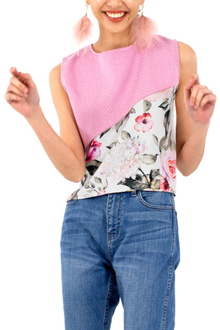 Flora Patch Blouse
