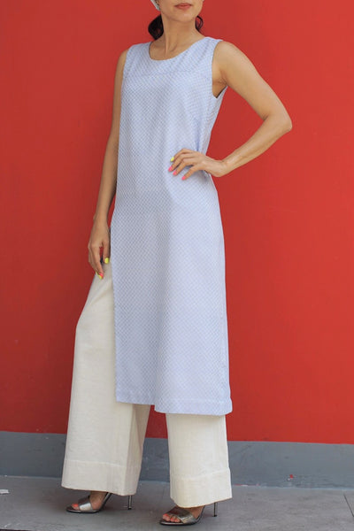 Ratchawat Dress Light Blue