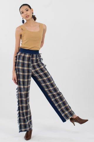 Plaid Urban Chic Pants