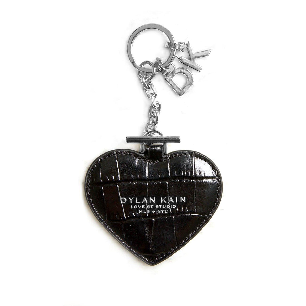 Ladies Personalised Key Chain Gift Set Silver Dylan Kain