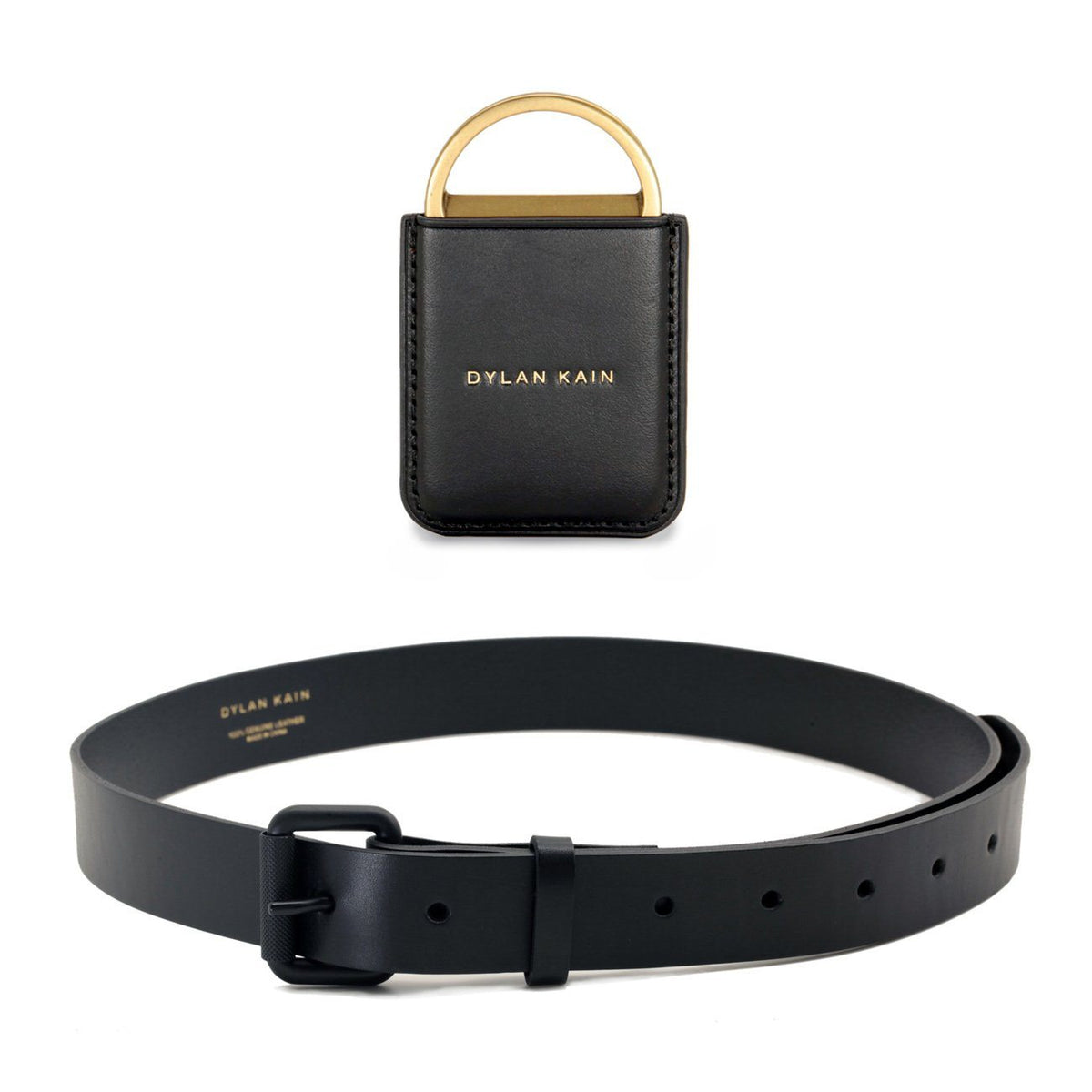 Mens Belt Gift Set