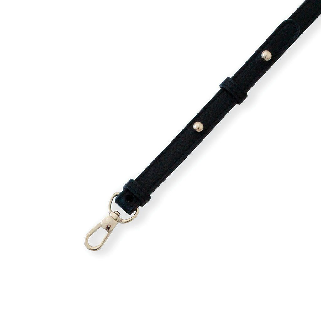 The Classic Leather Strap Light Gold Charm Dylan Kain