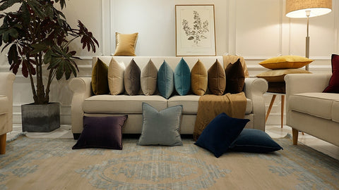 Luxury Cushion Covers | Velvet Throw Pillow Covers
