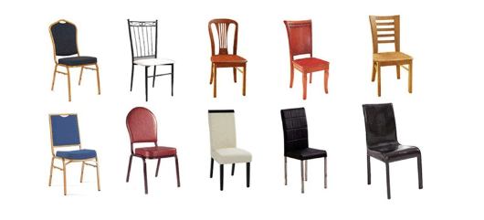 suitable chairs for chair covers