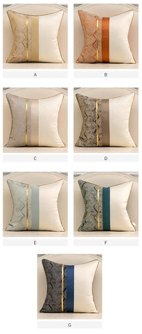 Modern patchwork cushion covers