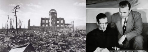 8 German Priests survive the Nuclear Bomb