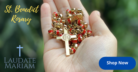 Personalized St. Benedict Rosary