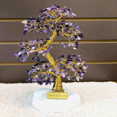 AMETHYST Tree of Good Luck - A4