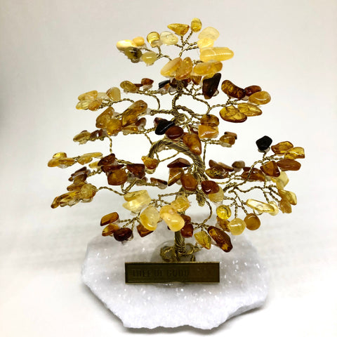 AMBER Tree Of Good Luck - R4