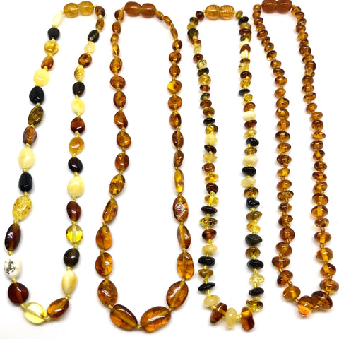 Baby Teething Amber Necklaces
