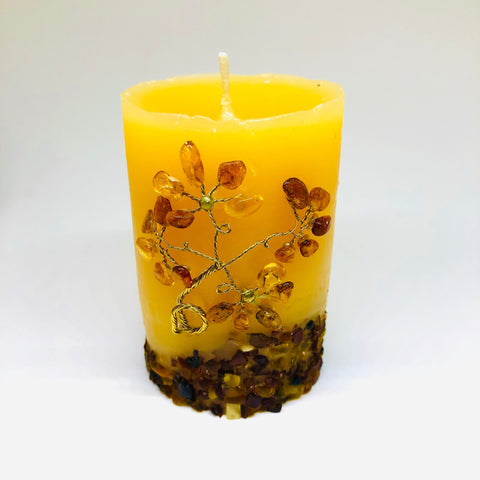 Amber Candle - C1