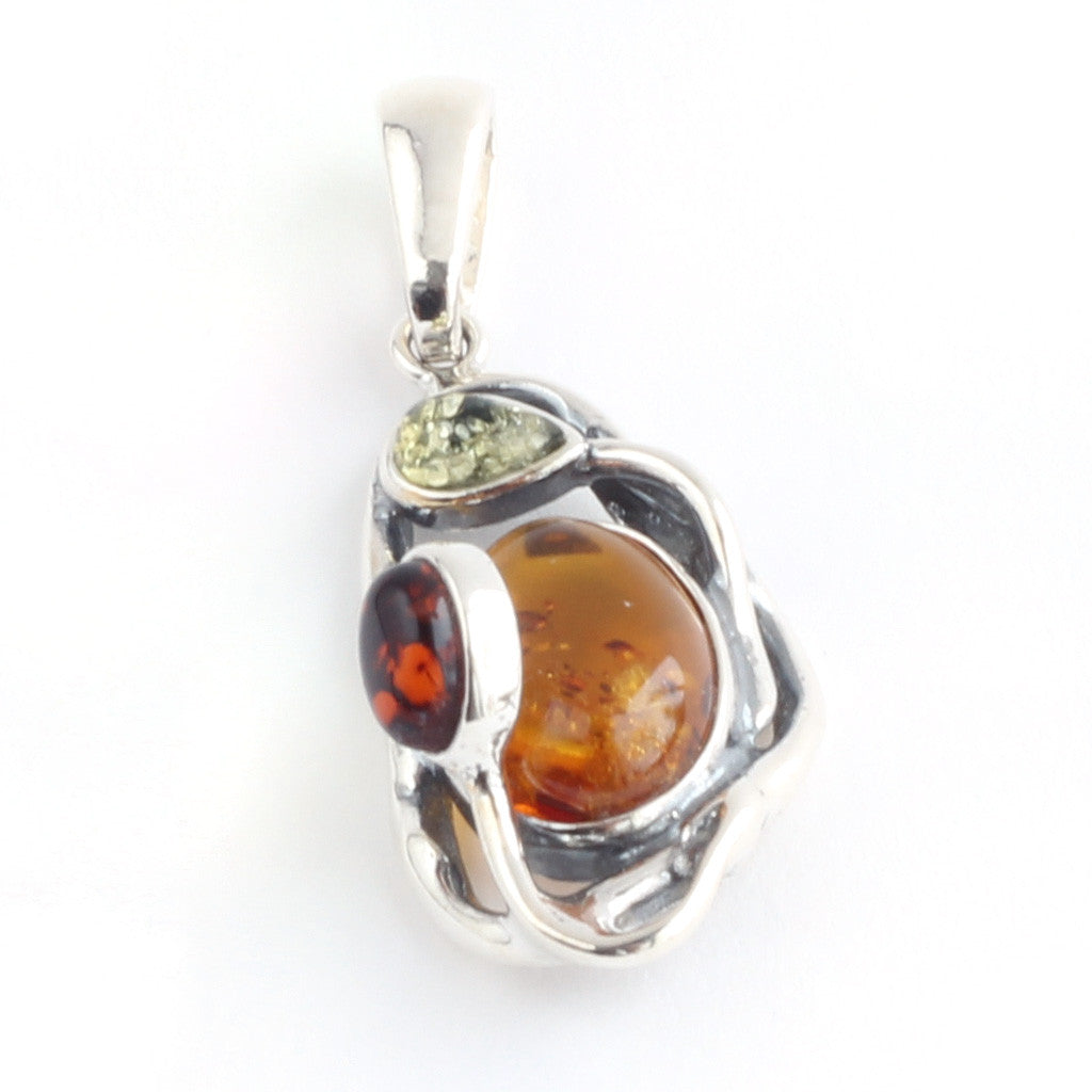 Baltic Amber Modern Pendant available at The Amber Room