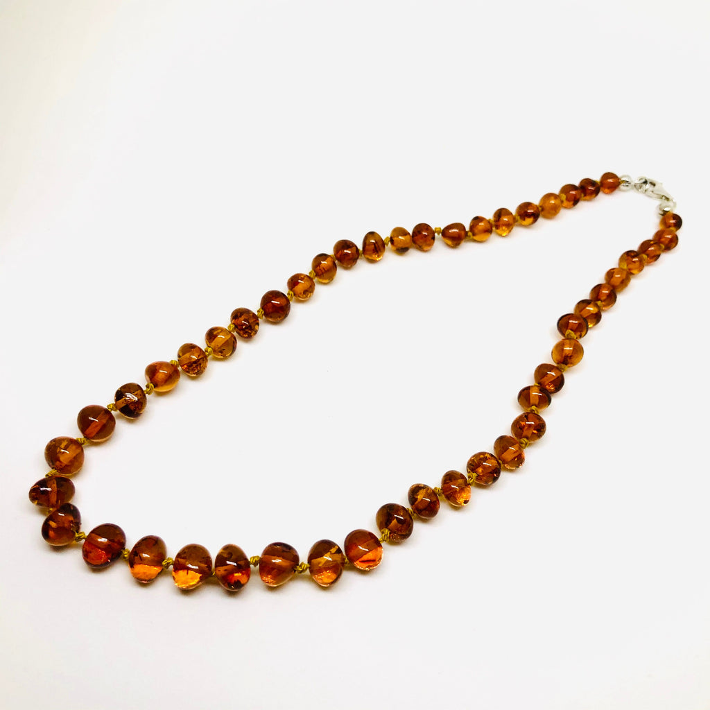 Short Amber Necklace