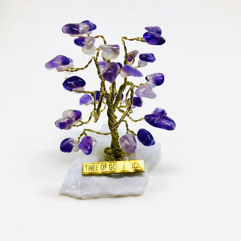 AMETHYST Tree Of Good Luck - R0