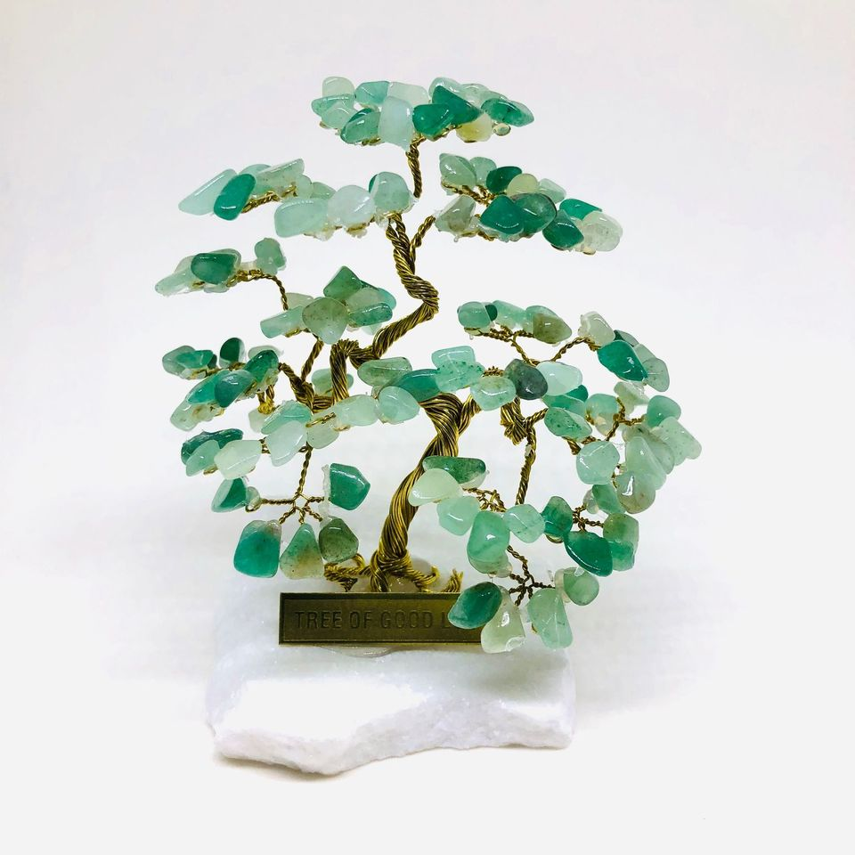AVENTURINE Tree Of Good Luck - R4