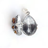 Baltic Amber Silver Oval Locket Pendant available at The Amber Room