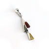 Baltic Amber Triangles Pendant available at The Amber Room