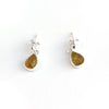 Baltic Amber Hanging Elegant Teardrop Earrings - Honey Amber Color available at The Amber Room