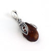 Baltic Amber Lady Bug Pendant available at The Amber Room