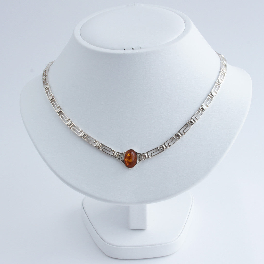 Baltic Amber Infinity Necklace available at The Amber Room