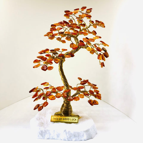 AMBER Tree Of Good Luck - A2