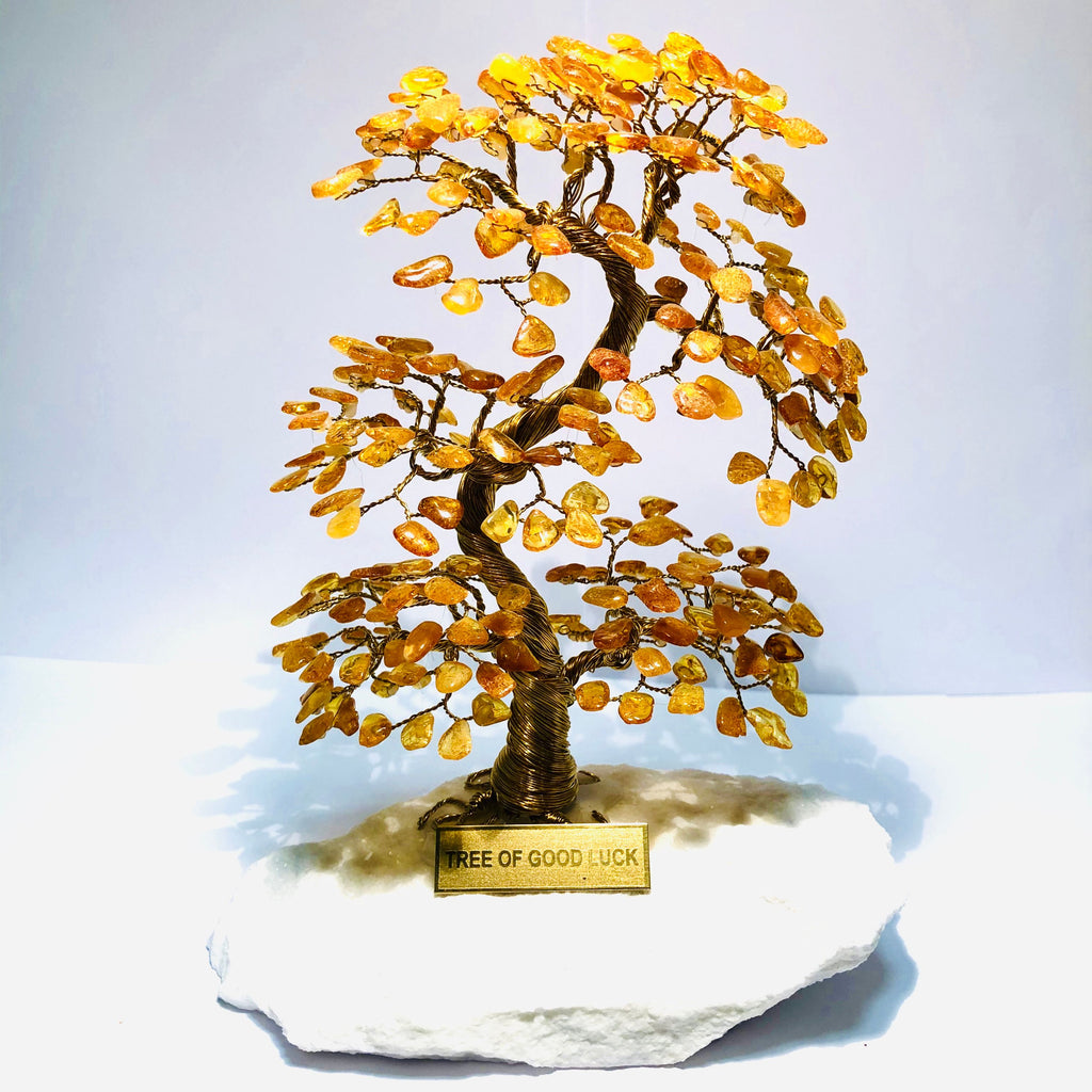 AMBER Tree Of Good Luck - A4