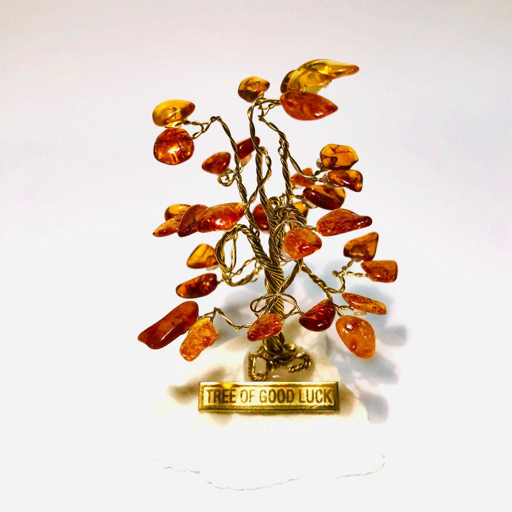 Amber Tree Of Good Luck R0