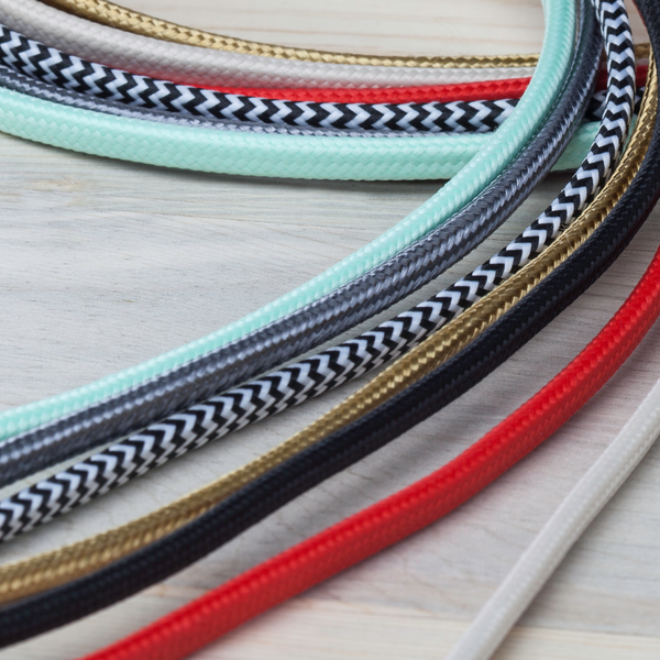 cloth covered electrical wire color cord company rh colorcord com cloth covered romex wiring cloth covered wiring for sale