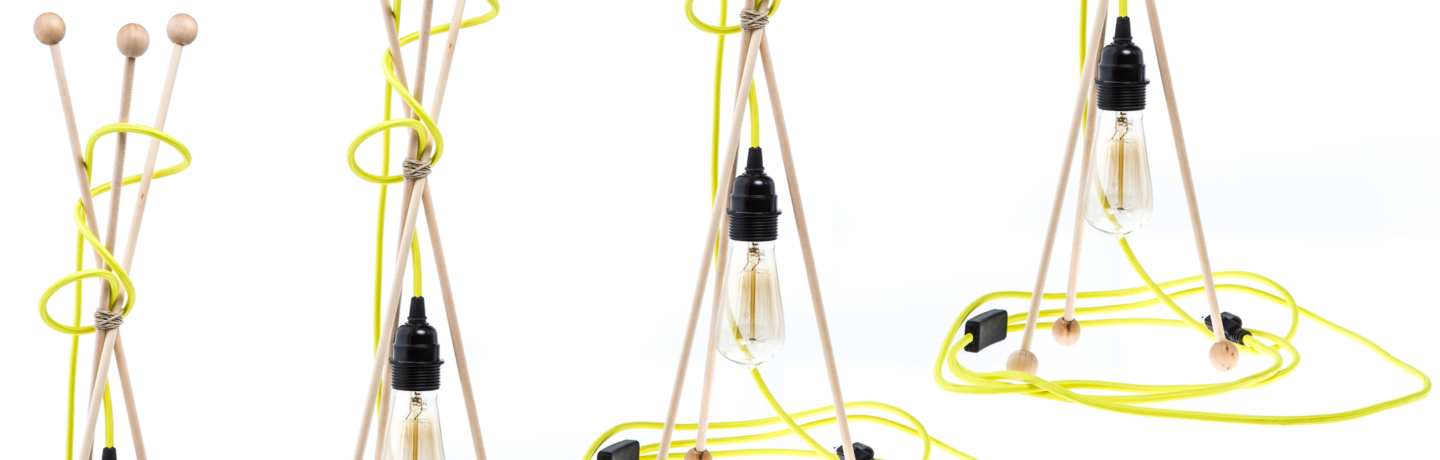 Diy Mod Color Cord Company Wiring A Light Fixture To Modern Lamp Using Pendant Set
