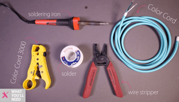 Tutorial - Tinning Electrical wire