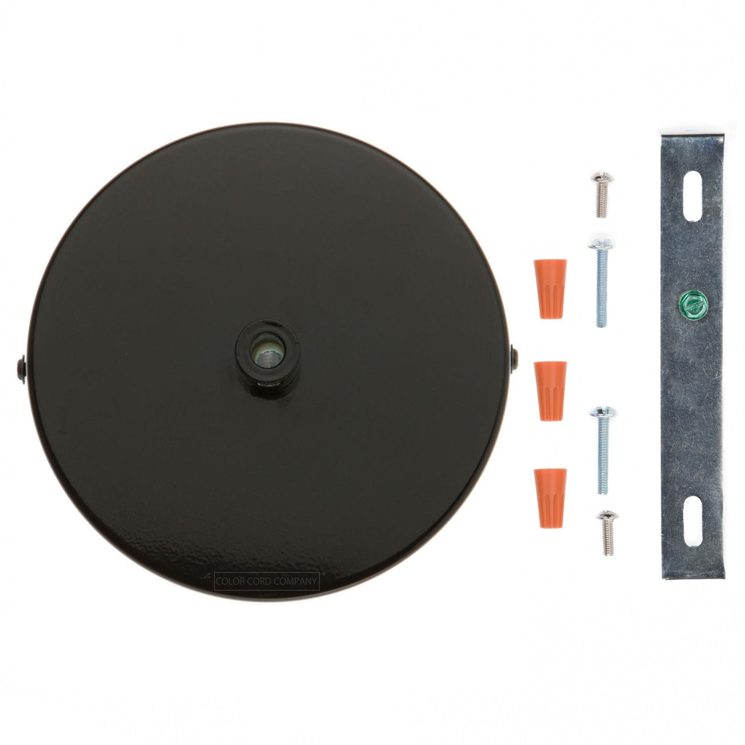 Single Port Ceiling Canopy  sc 1 st  Color Cord & Ceiling Canopy u0026 Conversion Kit - Single Port | Color Cord Company