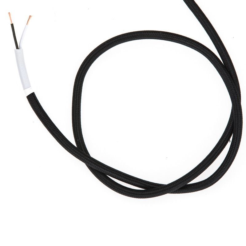 So Cord Listed 3 4 5 Conductor So Sow Cable Flexible Cored: Cloth Covered Wire - Black