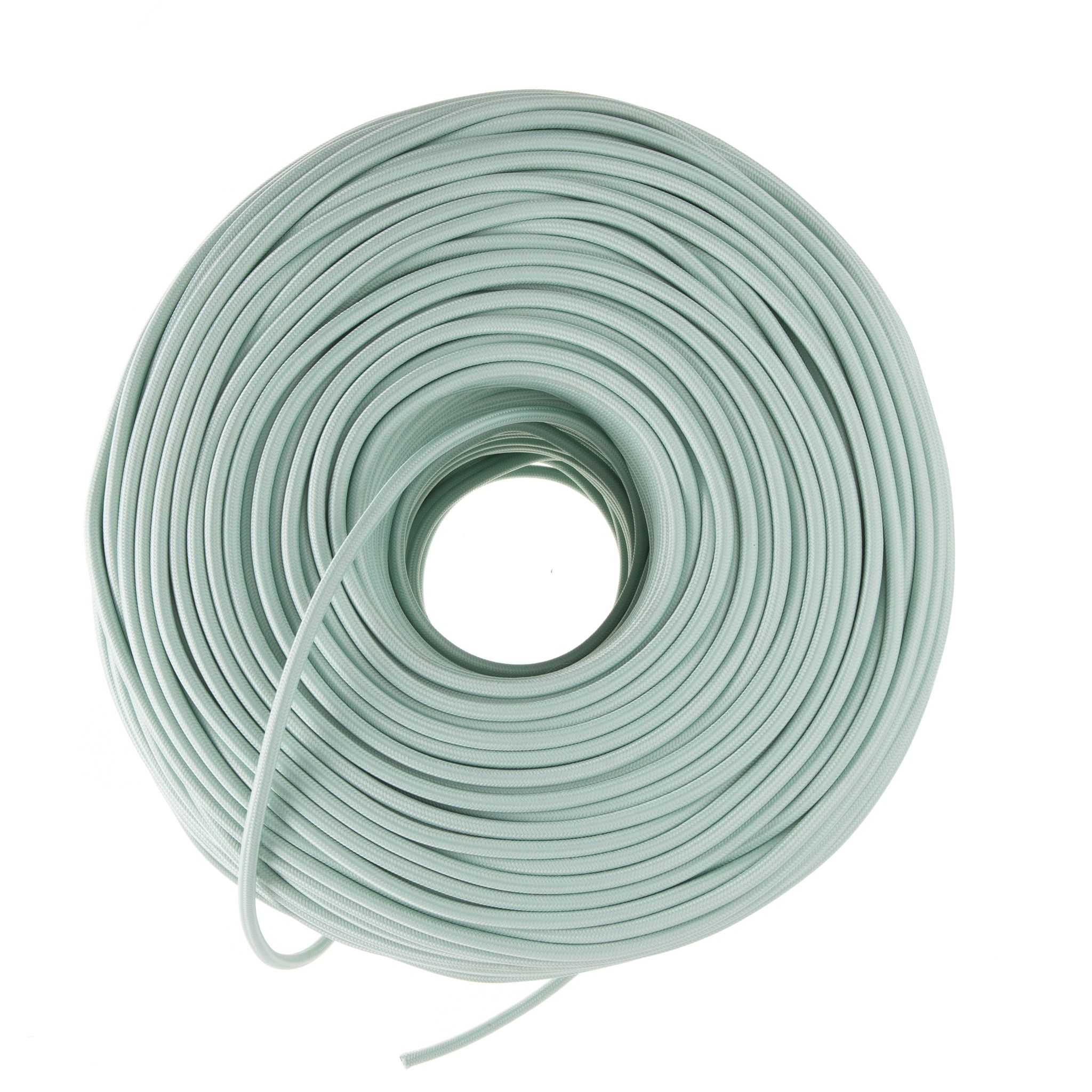 So Cord Listed 3 4 5 Conductor So Sow Cable Flexible Cored: DIY Fabric Wire By The Foot - Eucalyptus