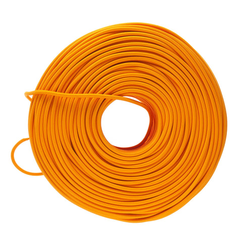 Cloth Covered Electrical Wire - Orange Tone Colors   Color Cord Company