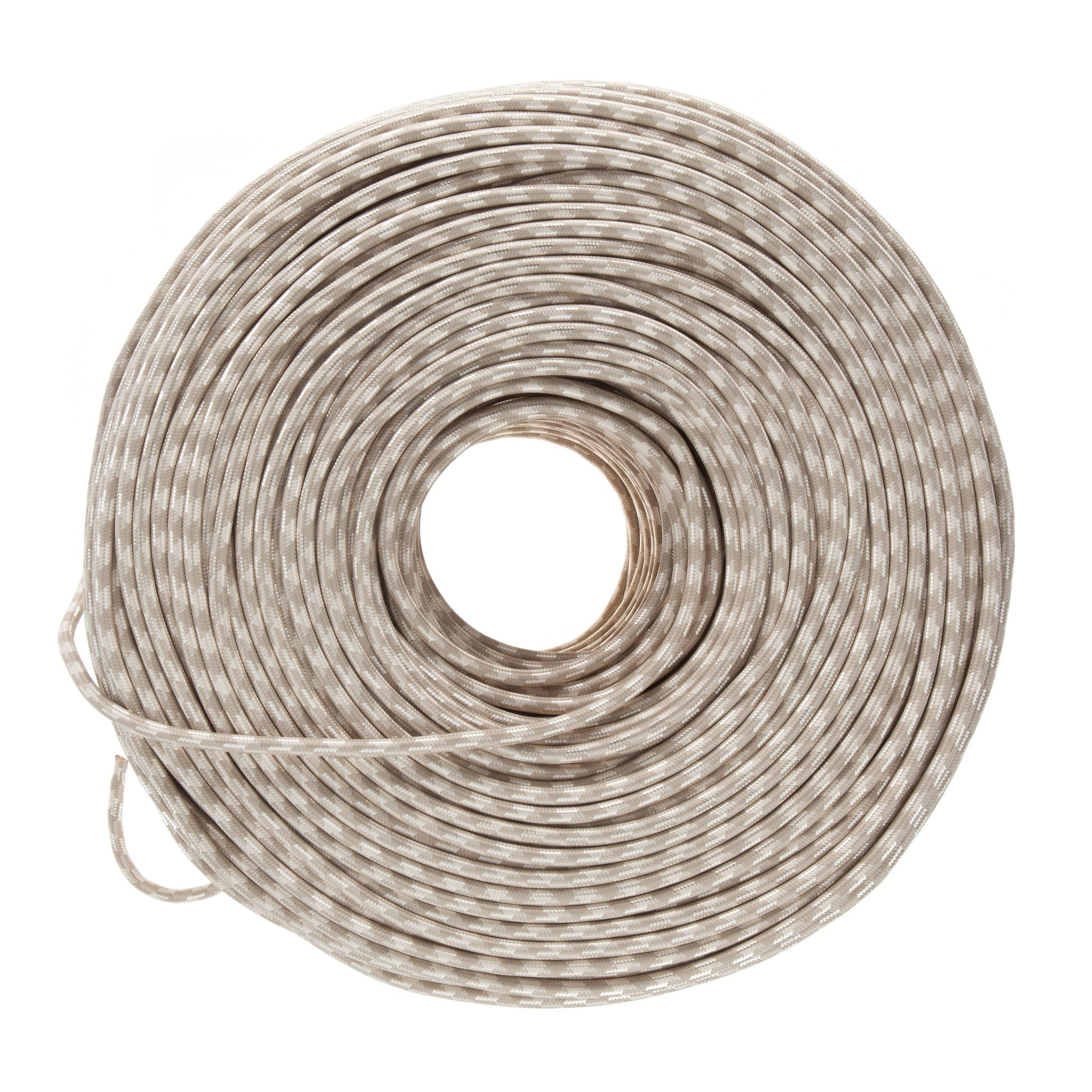 Diy Fabric Wire By The Foot Neutral Argyle Color Cord Company Cloth Covered Wiring