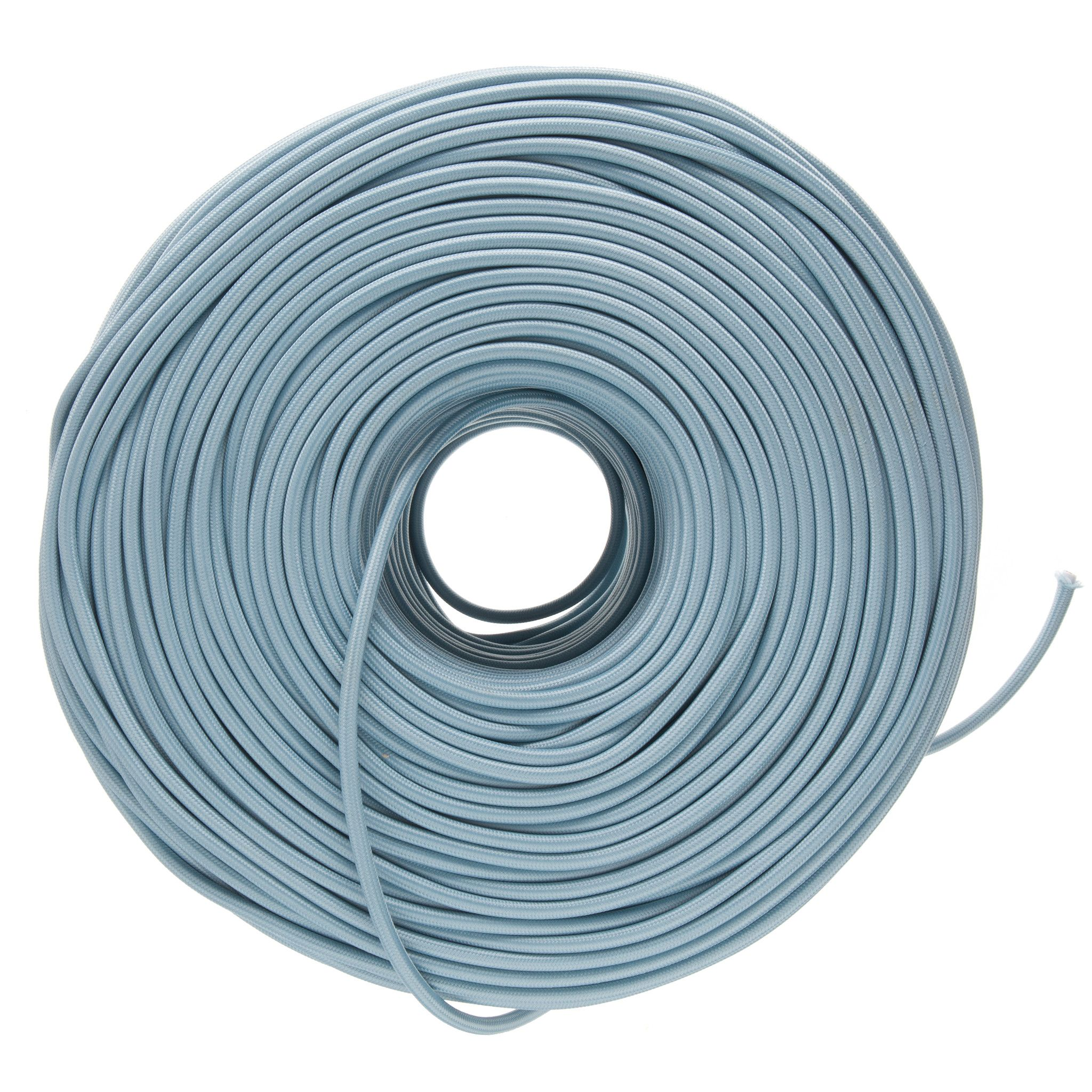 Cloth Covered Electrical Wire - Shale | Color Cord Company