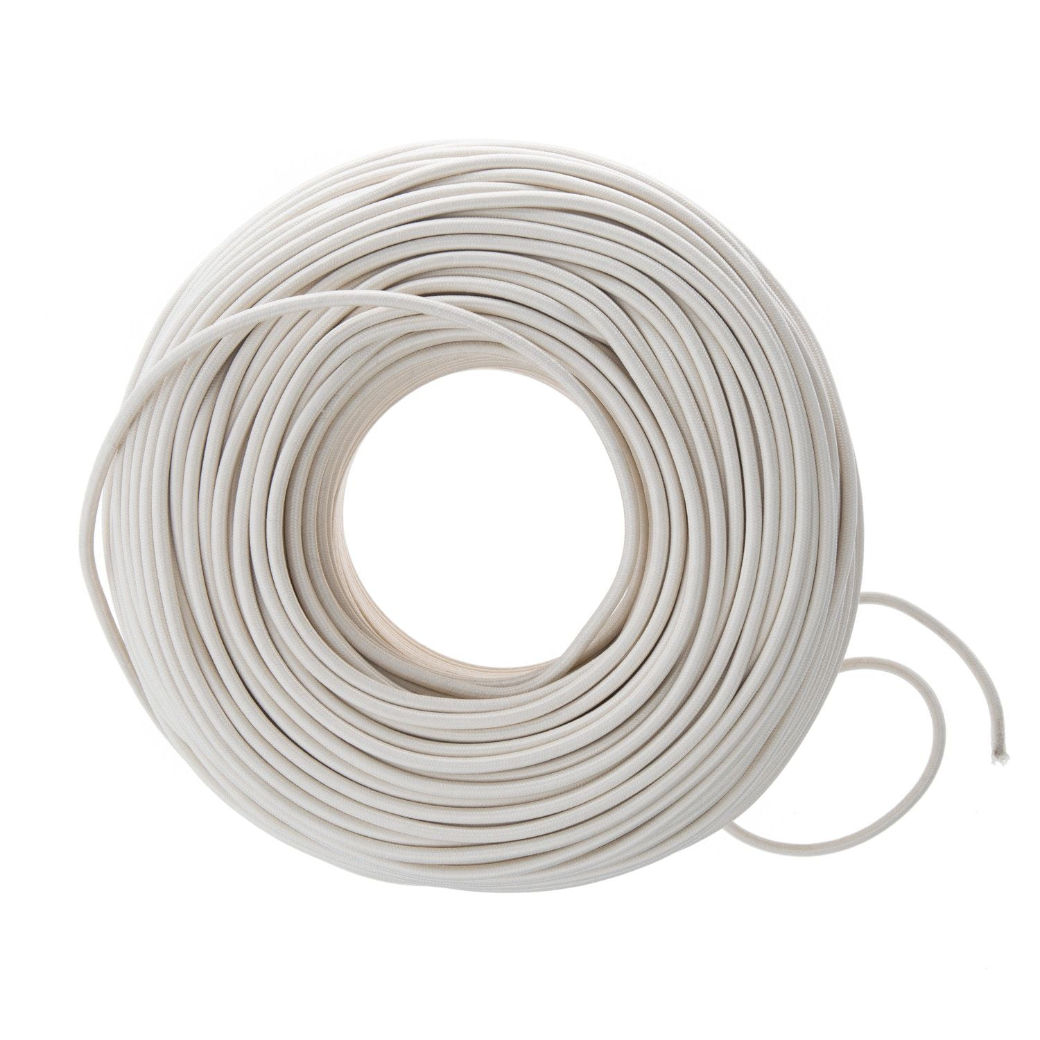 So Cord Listed 3 4 5 Conductor So Sow Cable Flexible Cored: Cloth Covered Wire - Ivory