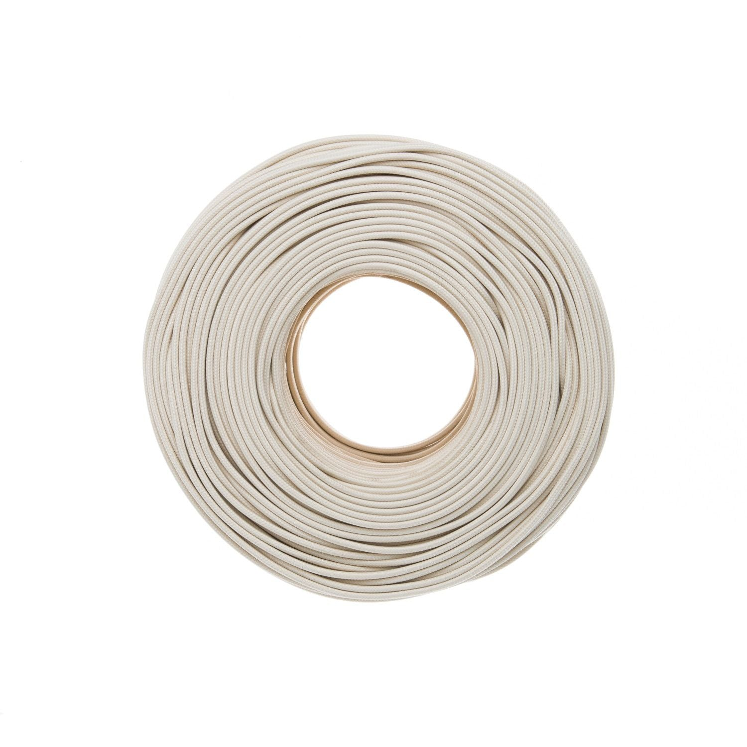 DIY Flat Parallel Wire SPT-1 - Ivory | Color Cord Company