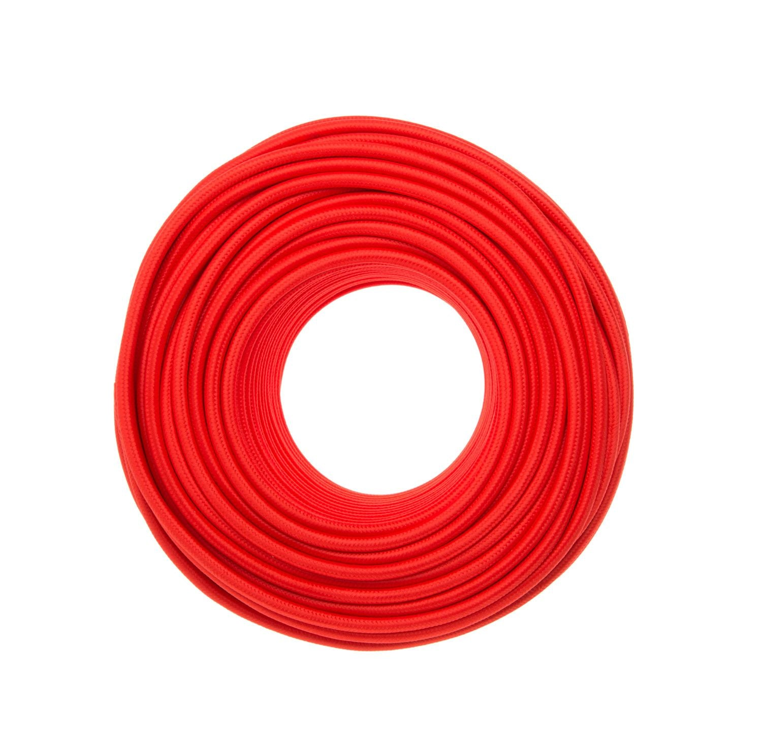 Cloth Covered Wire - Red | Color Cord Company