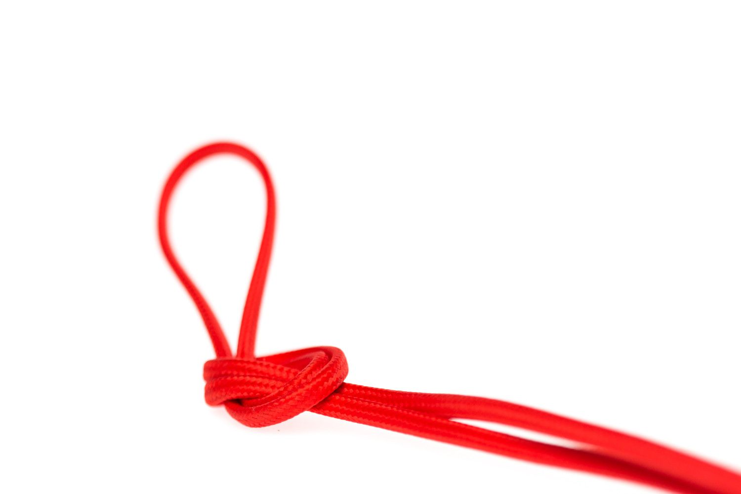 DIY Flat Parallel Wire SPT-1 - Red | Color Cord Company